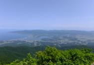 金北山眺望