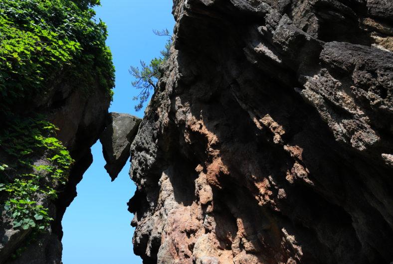 弁慶のはさみ岩03