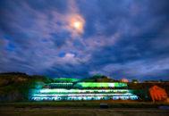 北沢浮遊選鉱場ライトアップ01